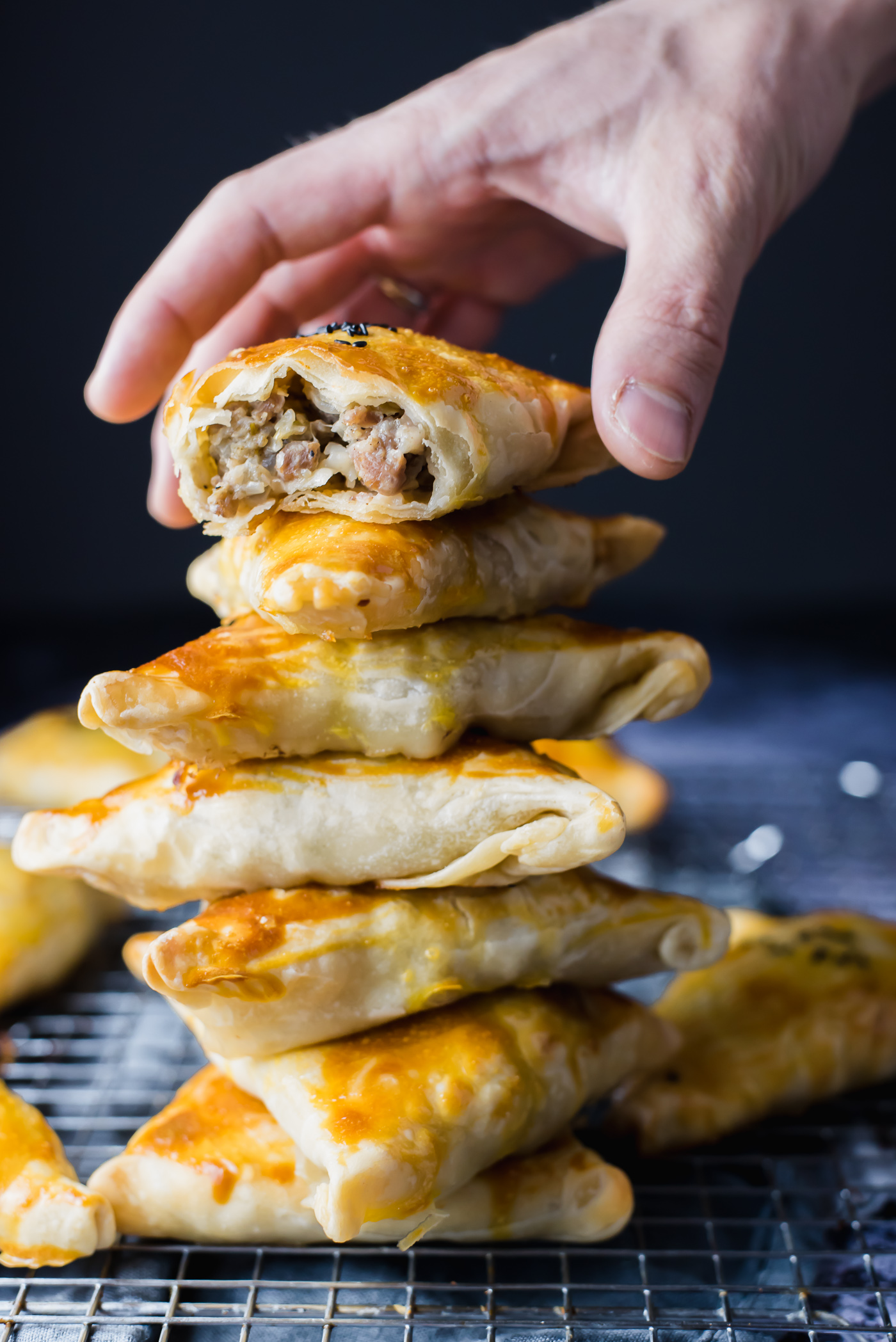 The best recipe for samsa. Recipe for samsa puff pastry with a photo 95