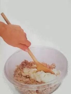 receta de canelones de pollo y jamón