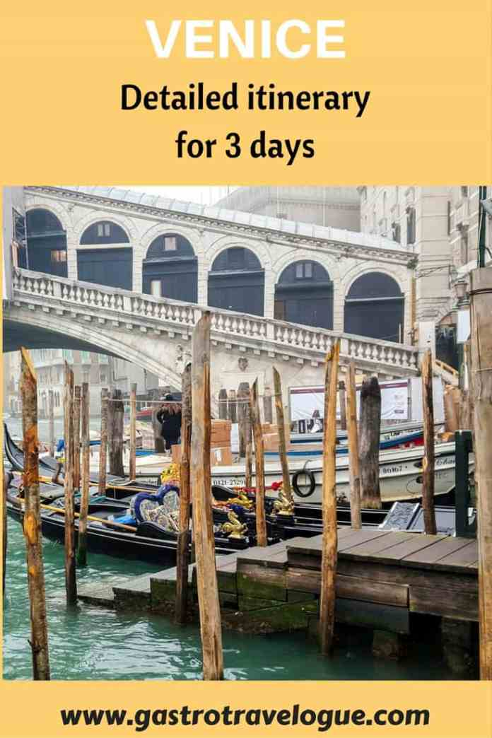 How to visit venice in 3 days easily gastrotravelogue for What to see in venice in 2 days