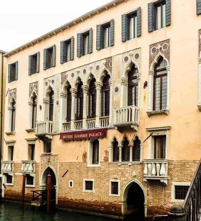 Hotel Liassidi Palace Venice