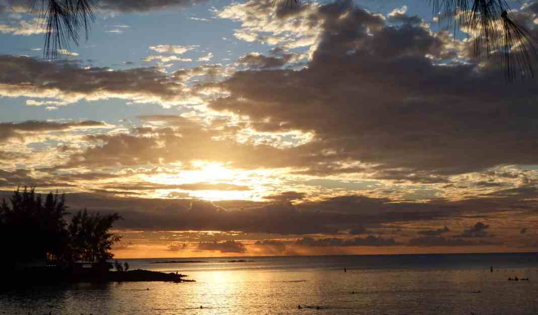Sunset, Grand Baie Mauritius