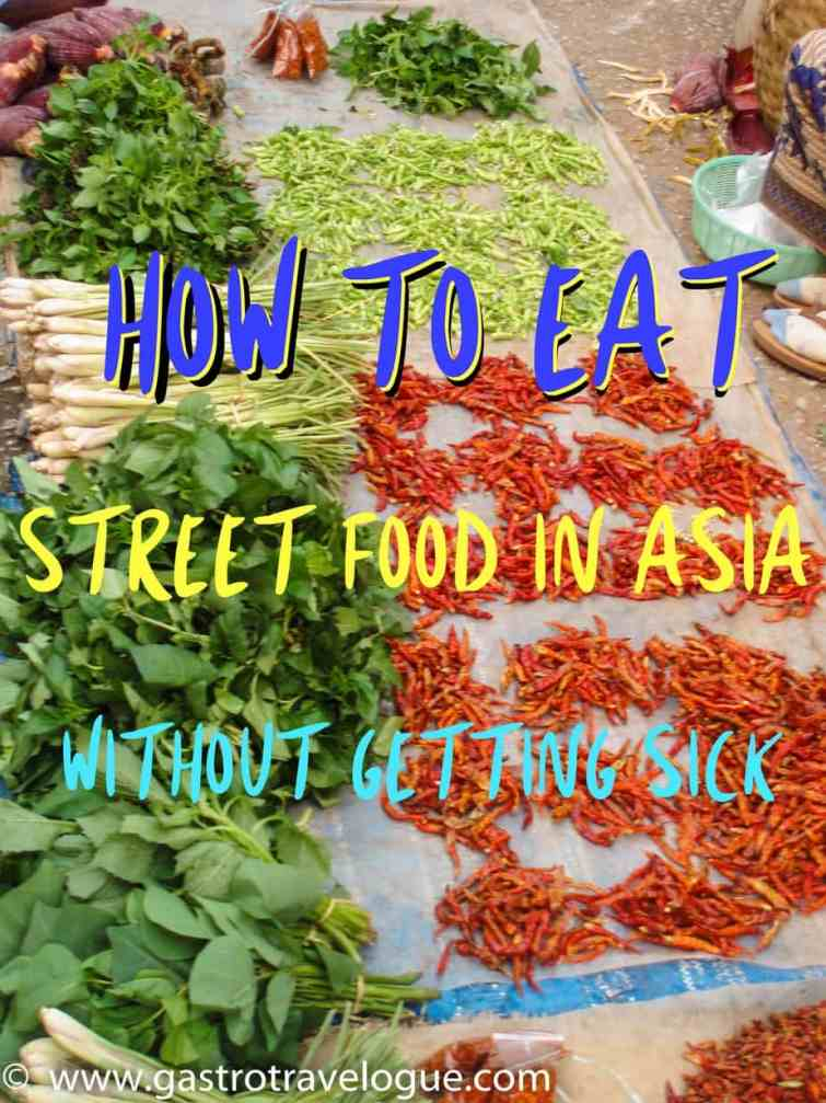 Tips to avoid getting sick from street food in Asia