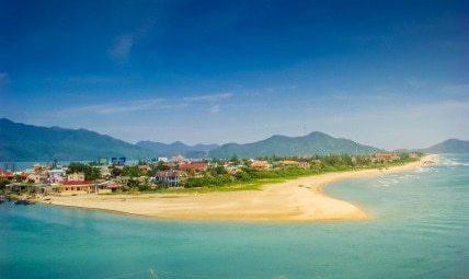 View from Hai Van Pass Vietnam