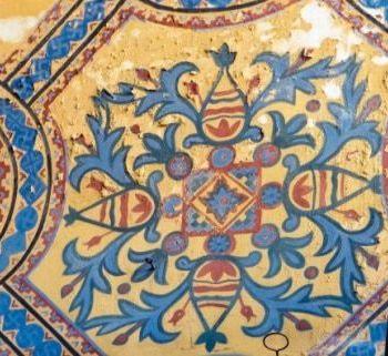 Mosaic in Hagia Sofia