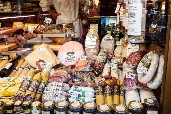 Gourmet goodies in Rome