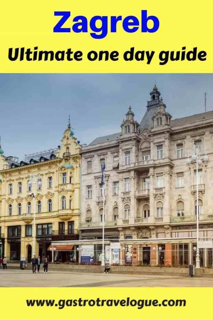 Zagreb in one day