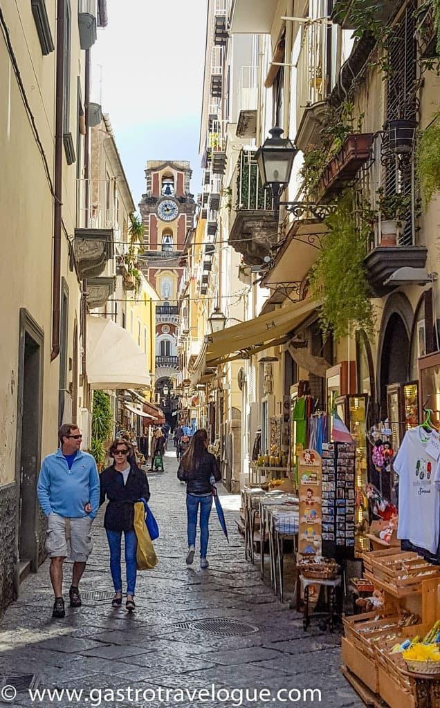 Passeggiata in Sorrento