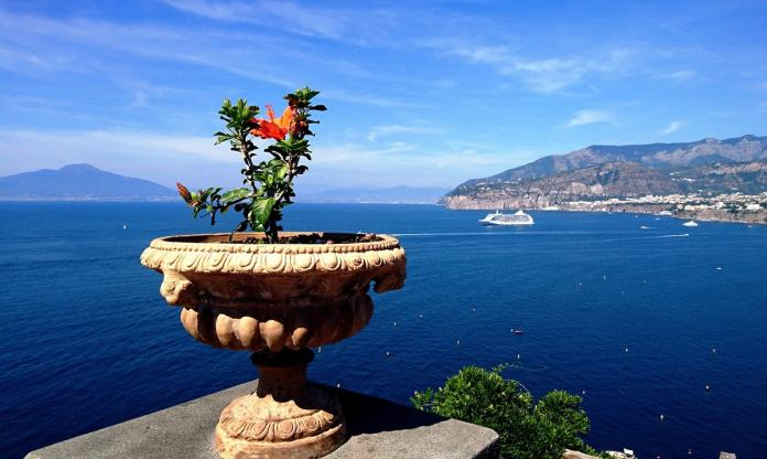 Beautiful views from Sorrento