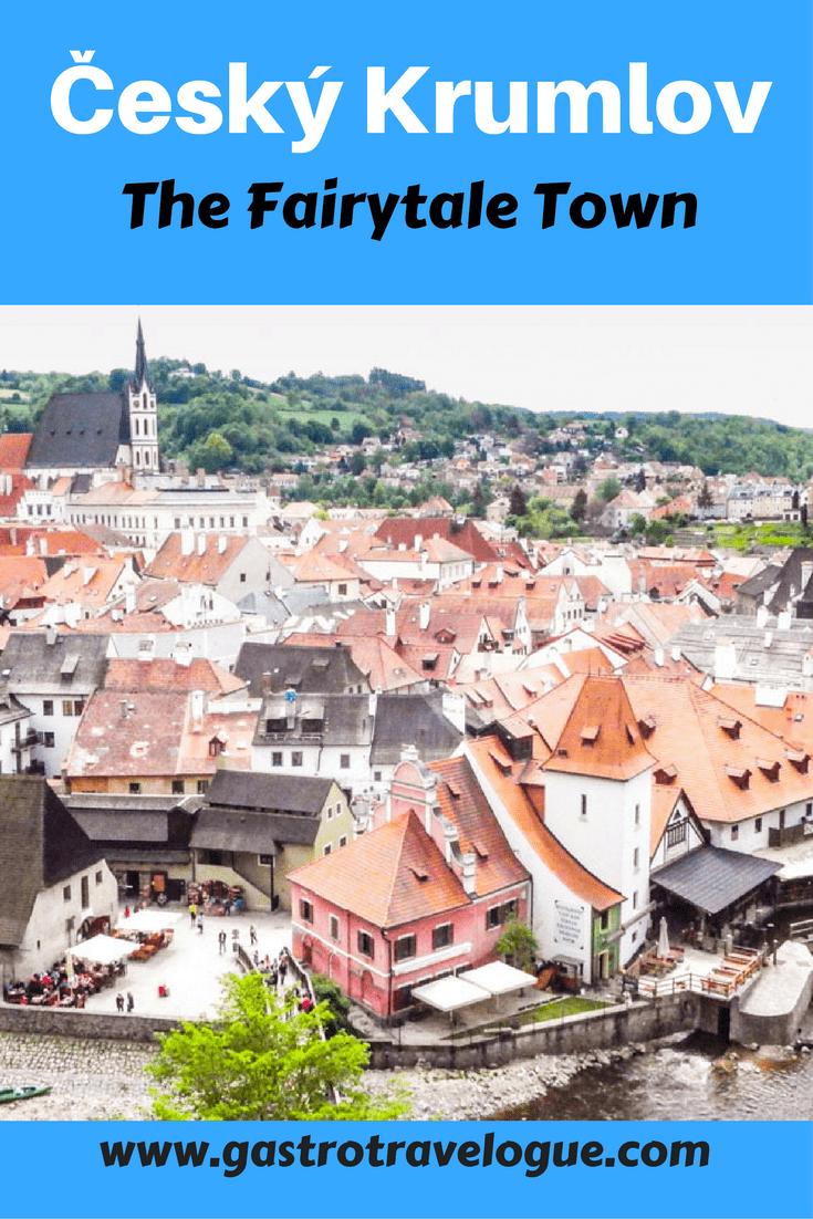 Český Krumlov the Fairytale Town