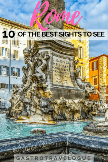Rome 10 sights to see
