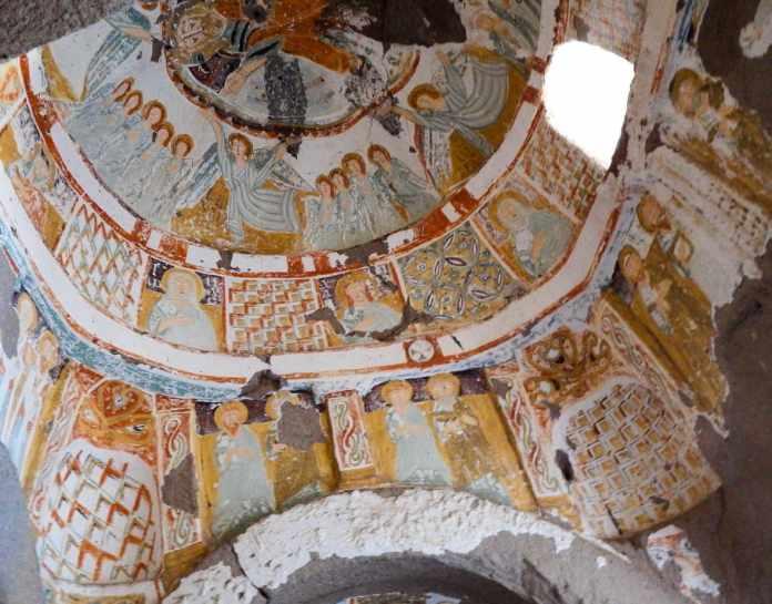 Agacalti Kilise Fresco Turkey
