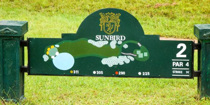 Sunbird Hole at Leopard Rock Golf Course