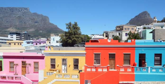 Bright houses of the Bo-Kaap