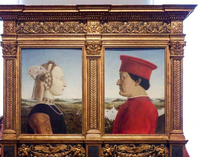 Portrait of the Duke and Duchess of Urbino