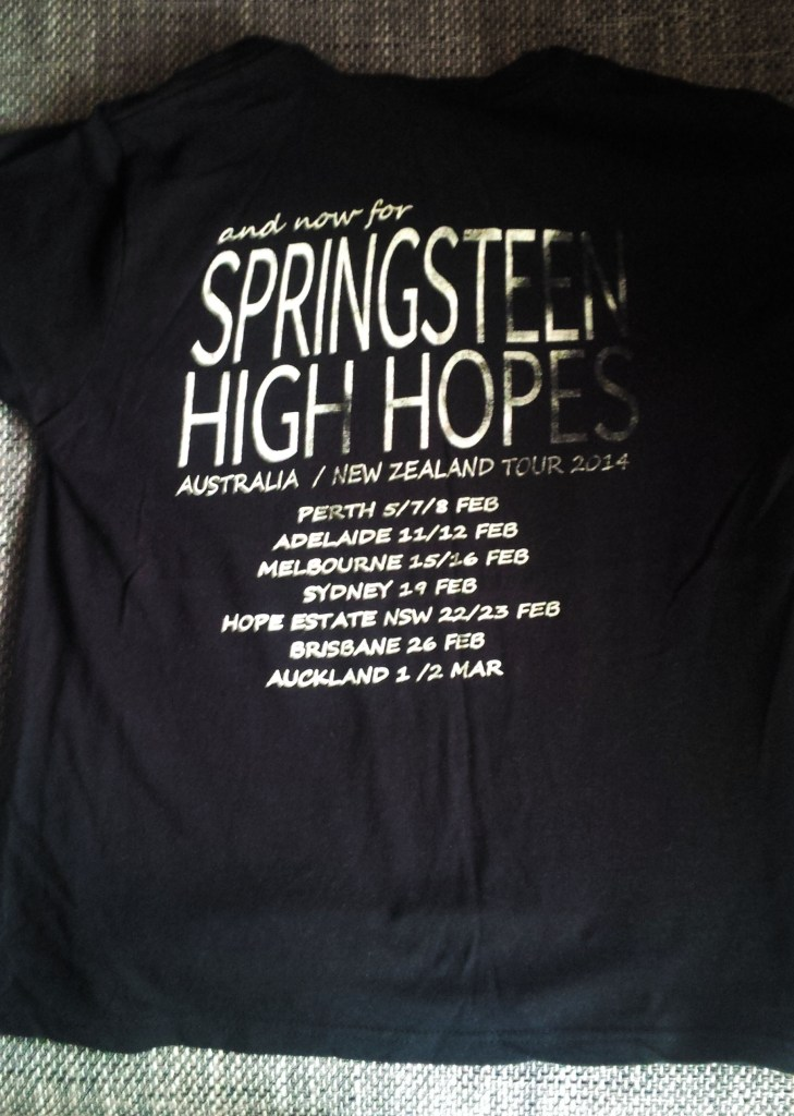 Bruce Springsteen shirt