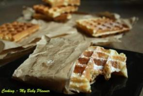 Waffle crocanti di Michalak - Cooking - My Baby Planner