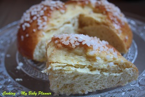 Mouna - brioche all'acqua di fior d'arancio - Cooking My Baby Planner