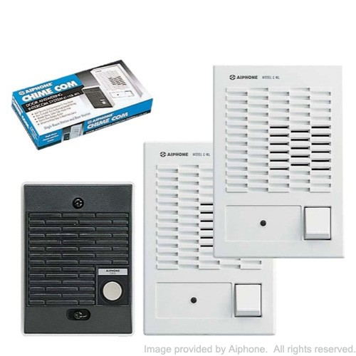 aiphone model c ml wiring diagram ceiling speaker volume control chime com 123l w dual master set