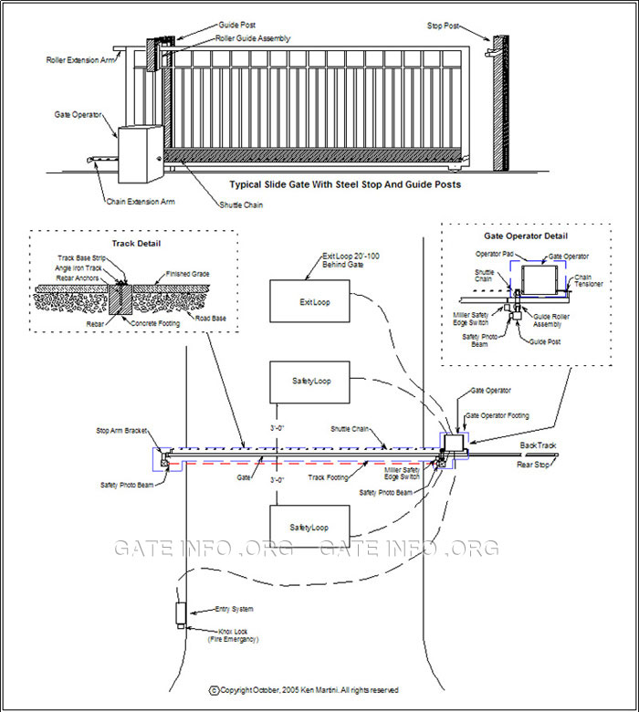 Genie Door Openers Wiring Diagram Slide Gate Opener Installation Diagram