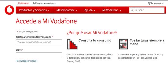 Como reclamar contra Vodafone