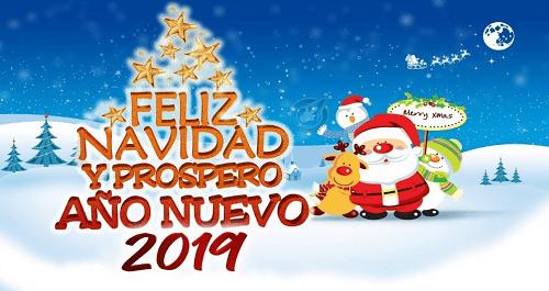 Felicitación de año nuevo 2019