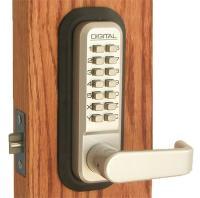 Lockey Keyless Entry Door Lock 2835 MG Spring Latch Mechanical