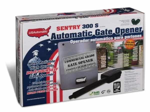 Why the sentry s is best gate opener in market