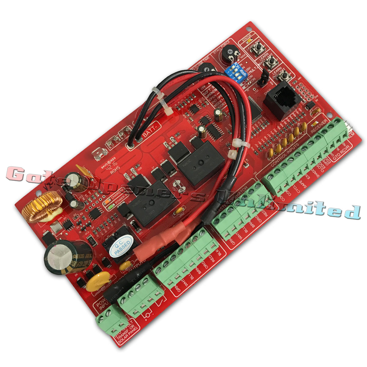 Mighty Mule Fm502 Circuit Board Replacement Control Board R4211