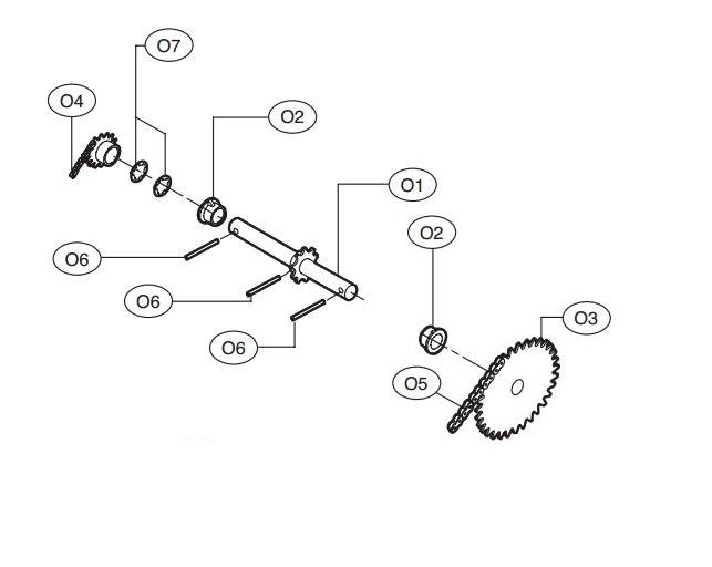 Liftmaster K72-33873 Output Shaft Kit