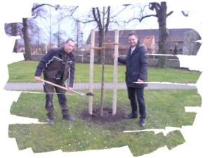 Ein Baum für Gatersleben