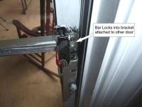 Door Brackets Security & Drop Bar Security Door Lock ...