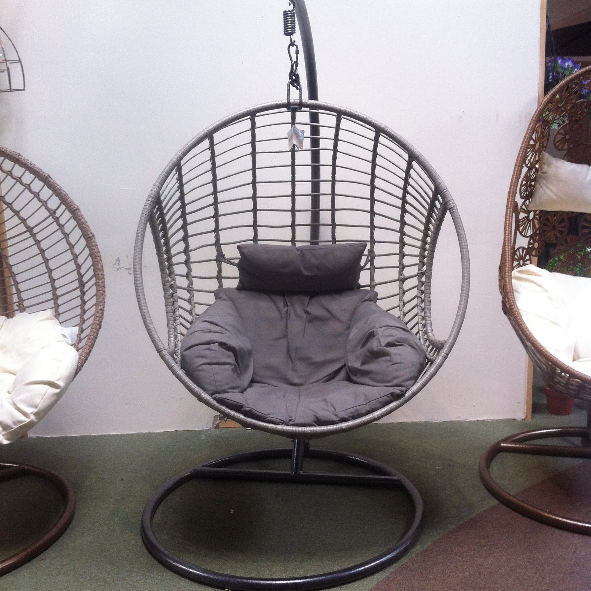 hang a round chair elegant folding chairs furniture gates garden centre leicestershire