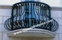 Railings Balcony Porch Deck Rails Metal Aluminum Wrought