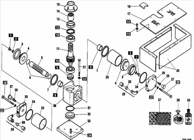 FAAC Gate Operators Repair Parts-FAAC 750 Swing Operators