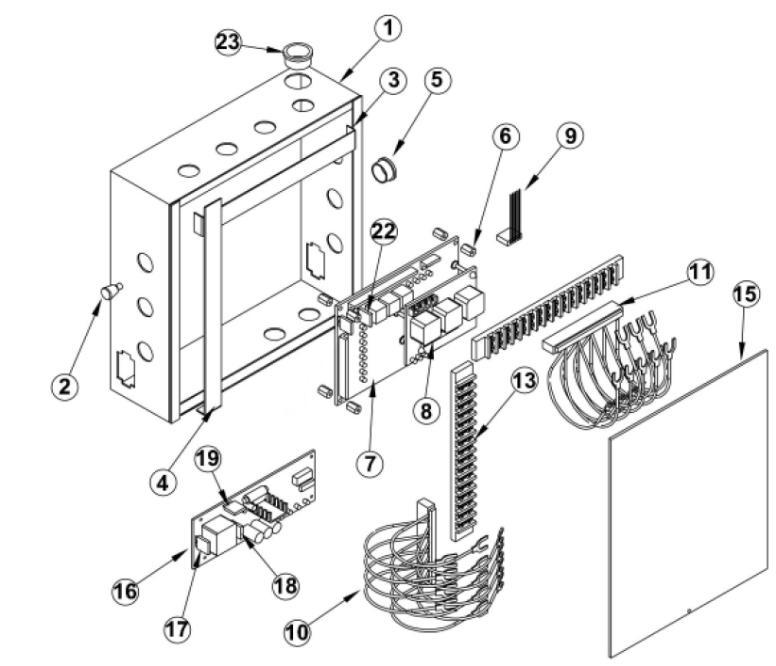 OSCO BGU-D Barrier Opener OSCO Gate Arm Barrier Parts