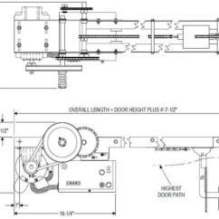 Roller Door Motor Wiring Diagram Rfp Process Power Master Overhead Doors Operators Powermaster Over Head Openers Apt Model