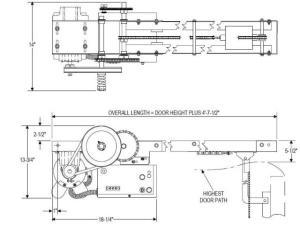 Power Master Overhead Doors Operators PowerMaster Over Head Door Openers APT Model