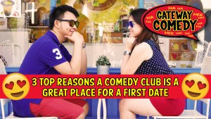 3 Reasons a Comedy Club is a Great Place for a First Date