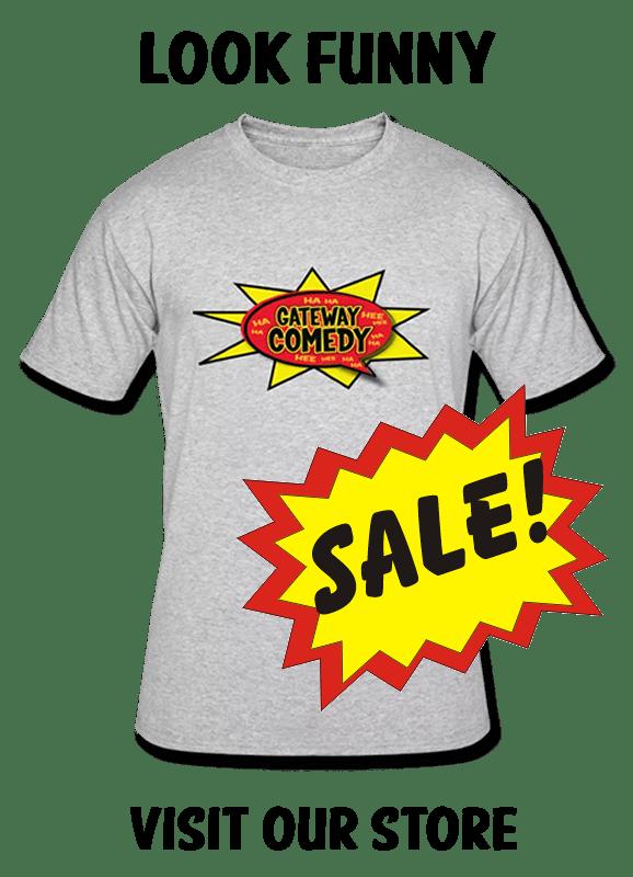 Official Gateway Comedy Club Merchandise