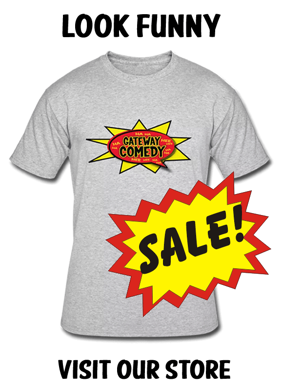 Official Gateway Comedy Club Merchandise