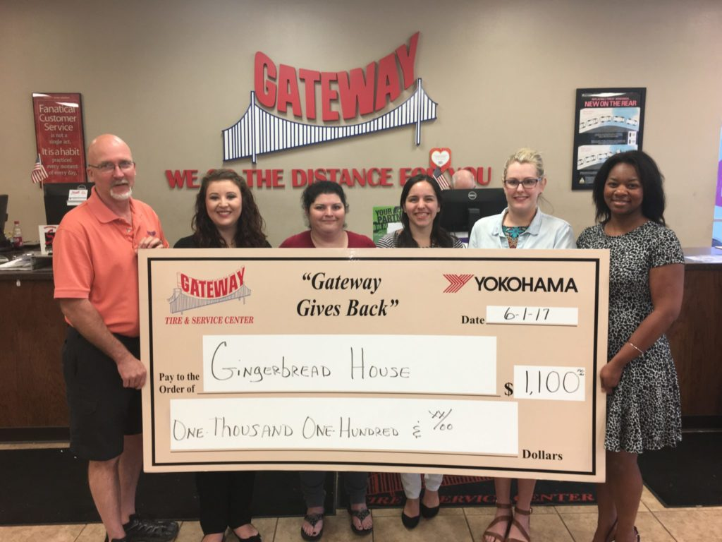 Gateway Gives Back Mississippi Gateway Tire Amp Service