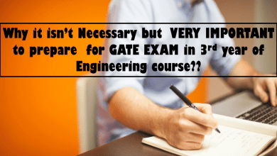 Photo of Why to prepare GATE exam in 3rd year of engineering?