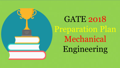 Photo of GATE 2018 Preparation Plan For Mechanical Engineering