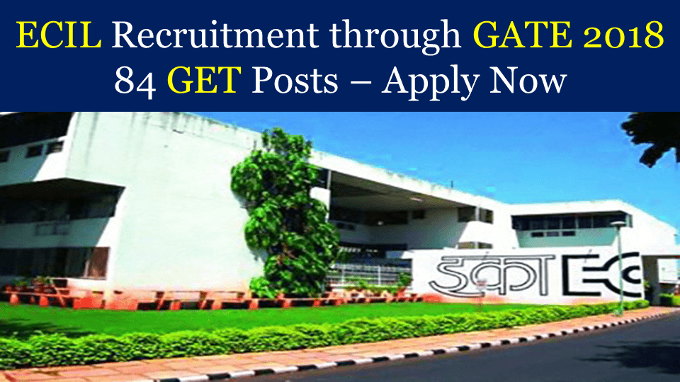 ECIL Recruitment through GATE