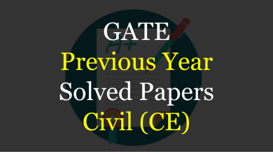 Photo of GATE Previous Year Solved Papers for Civil
