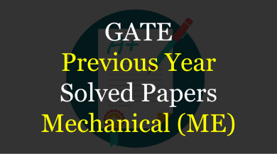 Photo of GATE Previous Year Solved Papers for Mechanical