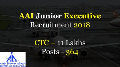 Photo of AAI Junior Executive Recruitment 2018