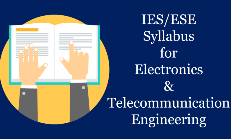 IES 2020 Syllabus for Electronics