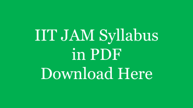 Photo of IIT JAM 2021 Syllabus & Paper Pattern