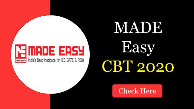 made easy cbt 2020